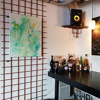 Ausstellung Jigger Bar