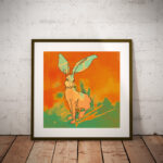 "Digital Art ""Mr. Rabbit"""